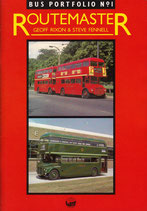 Bus Portfolio No. 1  Routemaster by Geoff Rixon and Steve Fennell