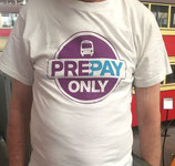 Promotional t-shirt STA Prepay.