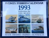 Paintings by Phil Belbin   Sydney Ferries
