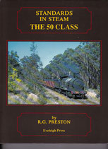 STANDARDS IN STEAM the 50 class by RG Preston. as new condition