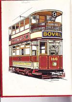 Buses Trolleys Trams Chas. H Dunbar