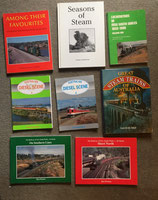 Rail Books    Locomotives, Rolling Stock, Photo Albums. All $10.00