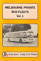 Melbourne Private Bus Fleets Volume 1