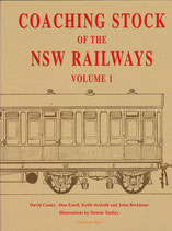 Coaching Stock of the NSW Railways vol. 1  by Cooke, Estell, Seckold, Beckhaus. in as new condition