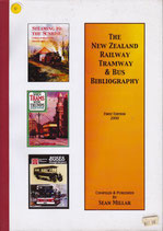 New Zealand Railway Tramway and Bus Bibliography. ed. Sean Millar