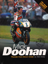 "Mick Doohan 1:43 scale bike model and book  ""Legends"" from Top Gear"