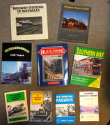 Line histories, Stations, Infrastructure, Bridges.  In New or AS NEW CONDITION. All $10.00 each