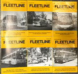 FLEETLINE back issues years 1995 to 2002