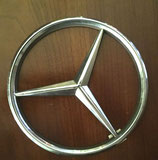 Mercedes Benz bus badge.