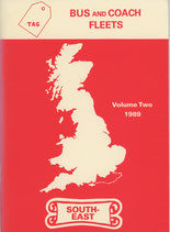 Bus and Coach Fleets Volume Two 1989 South-East