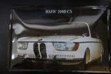 """Blechschild """"BMW 2000 CS"""" 30 x 20 cm"""