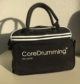CoreDrumming®  Umhängetasche im Retro Bowling Style, erhältlich in schwarz