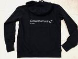 CoreDrumming® Kapuzenjacke erhältlich  in schwarz