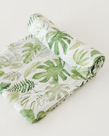 COTTON SWADDLE - TROPICAL