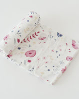 DELUXE SWADDLE - FAIRY GARDEN