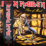 "IRON MAIDEN - ""Piece Of Mind"" LP"