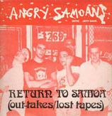 ANGRY SAMOANS - Return To Samoa (Out-Takes / Lost Tapes) LP