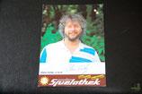 Autogrammkarte Klaus Fertig (Union Solingen) 1985/1986