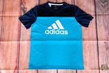 Adidas Training T-Shirt Dunkelblau (sehr gut) 164