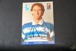 Autogrammkarte Uwe Spies (MSV Duisburg) 1997/1998