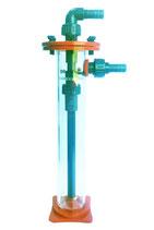 Octo Bio Pellet Reaktor MF-70 Aquarien bis 300 Liter Giesemann wirbelbettfilter Durchlauffilter