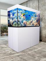 430 l Aquarium Experience 120 MW ohne Beleuchtung weiß