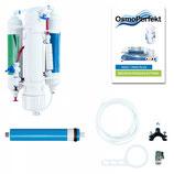 Filterset Meerwasserstarter Osmoseanlage mit Leerfiltern, Harz und TDS Leitwertmesser