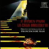 FORMULE POUR UN MEURTRE (HYDEN PARK) - FRANCESCO DE MASI (CD)