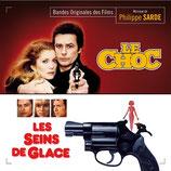 LE CHOC / LES SEINS DE GLACE (MUSIQUE DE FILM) - PHILIPPE SARDE (CD)