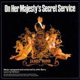 AU SERVICE SECRET DE SA MAJESTE (MUSIQUE DE FILM) - JOHN BARRY (CD)