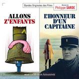 ALLONS Z'ENFANTS / L'HONNEUR D'UN CAPITAINE - PHILIPPE SARDE (CD)