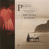 LA LECON DE PIANO (MUSIQUE DE FILM) - MICHAEL NYMAN (CD)