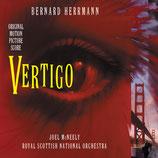SUEURS FROIDES (VERTIGO) MUSIQUE DE FILM - BERNARD HERRMANN (CD)