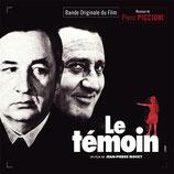 LE TEMOIN (MUSIQUE DE FILM) - PIERO PICCIONI (CD)