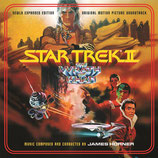 STAR TREK 2 LA COLERE DE KHAN (MUSIQUE DE FILM) - JAMES HORNER (CD)