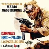 COMMANDOS / LES LANCIERS NOIRS (MUSIQUE) - MARIO NASCIMBENE (CD)