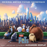 COMME DES BETES (THE SECRET LIFE OF PETS) - ALEXANDRE DESPLAT (CD)