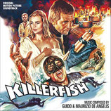 L'INVASION DES PIRANHAS (KILLERFISH) MUSIQUE DE FILM - GUIDO & MAURIZIO DE ANGELIS (CD)