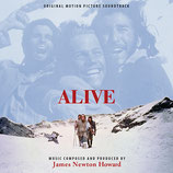 LES SURVIVANTS (ALIVE) MUSIQUE DE FILM - JAMES NEWTON HOWARD (2 CD)