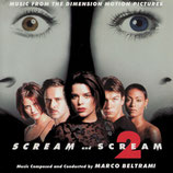 SCREAM & SCREAM 2 (MUSIQUE DE FILM) - MARCO BELTRAMI (CD)