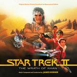 STAR TREK 2 LA COLERE DE KHAN (MUSIQUE DE FILM) - JAMES HORNER (2 CD)