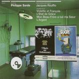 7 MORTS SUR ORDONNANCE / LE SUCRE (MUSIQUE) - PHILIPPE SARDE (CD)