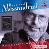 MUSIQUES POUR L'ECRAN (MUSIQUE) - RAYMOND ALESSANDRINI (2 CD)