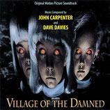 LE VILLAGE DES DAMNES (MUSIQUE) - JOHN CARPENTER - DAVE DAVIES (CD)