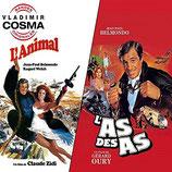 L'AS DES AS / L'ANIMAL (MUSIQUE DE FILM) - VLADIMIR COSMA (CD)