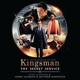 KINGSMAN : SERVICES SECRETS - MATTHEW MARGESON (CD + AUTOGRAPHE)