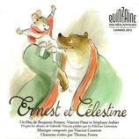 ERNEST ET CELESTINE (MUSIQUE) VINCENT COURTOIS - THOMAS FERSEN (CD)