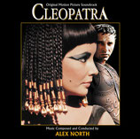 CLEOPATRE (CLEOPATRA) - MUSIQUE DE FILM - ALEX NORTH (2 CD)
