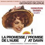 LA PROMESSE DE L'AUBE (MUSIQUE DE FILM) - GEORGES DELERUE (CD)