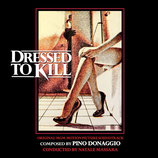 PULSIONS (DRESSED TO KILL) MUSIQUE DE FILM - PINO DONAGGIO (CD)